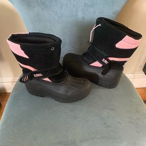 TOTES KIDS GIRLS WINTER/ SNOW BOOTS BLACK …